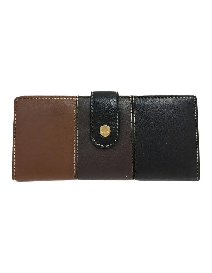 Eden RFID Trifold Wallet in Brown Multi image 1