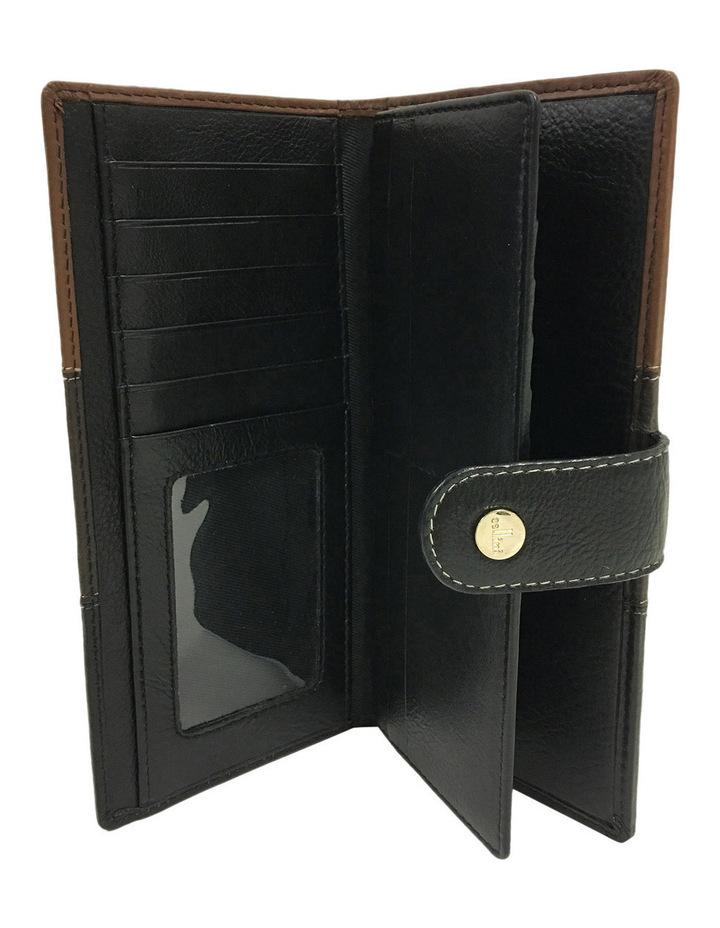 Eden RFID Trifold Wallet in Brown Multi image 2