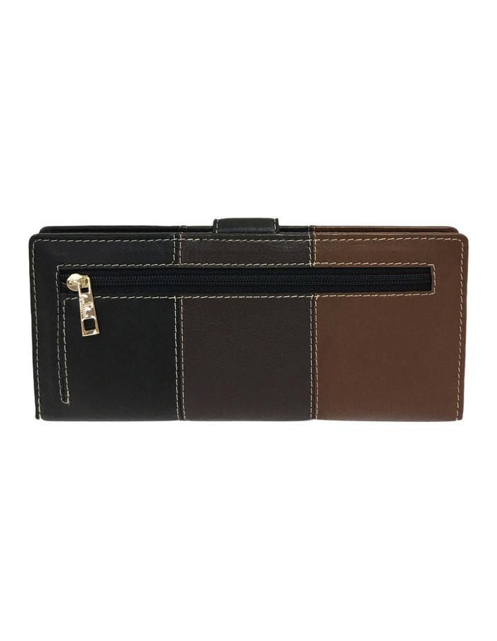 Eden RFID Trifold Wallet in Brown Multi image 3