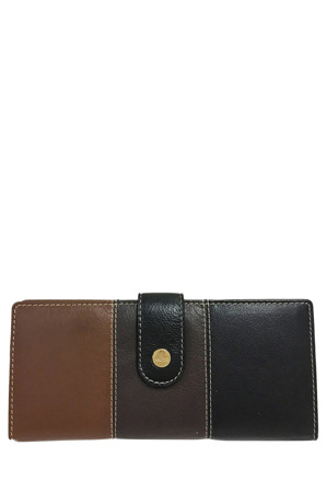 Cellini - CWI230 Eden RFID Trifold Wallet in Brown Multi