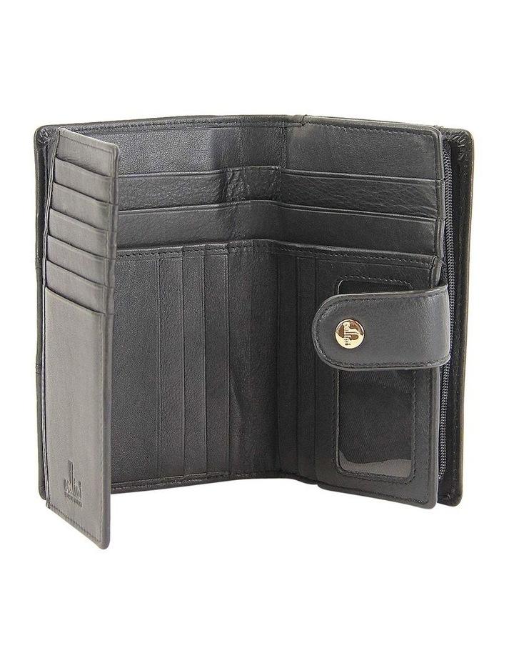 Rfid Bifold Wallet In Brown Multi Cwi231 image 2