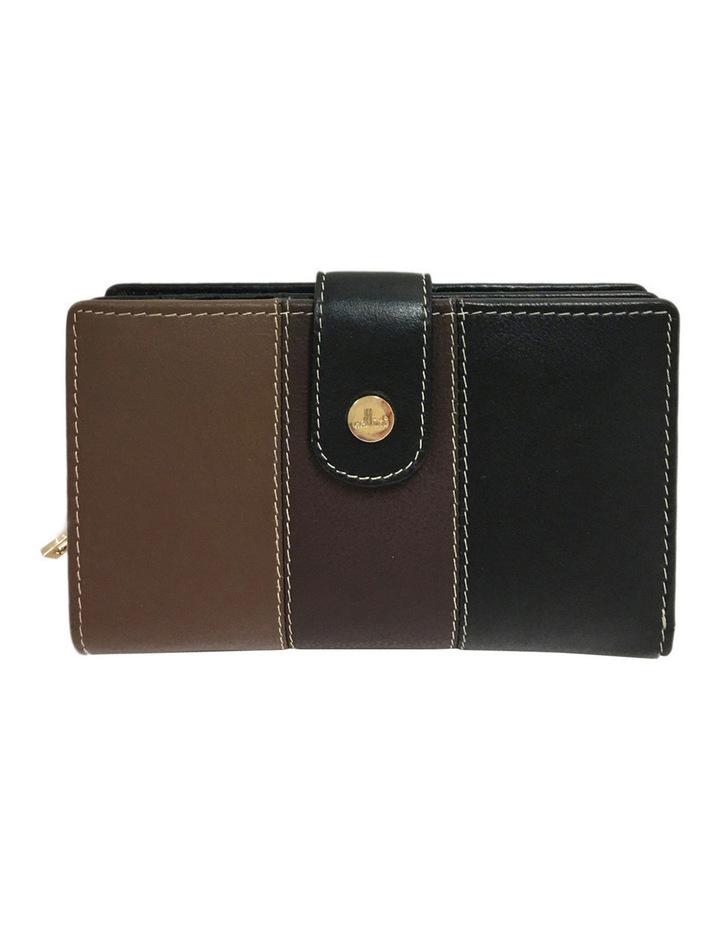 CWI231 Eden RFID Bifold Wallet in Brown Multi image 1
