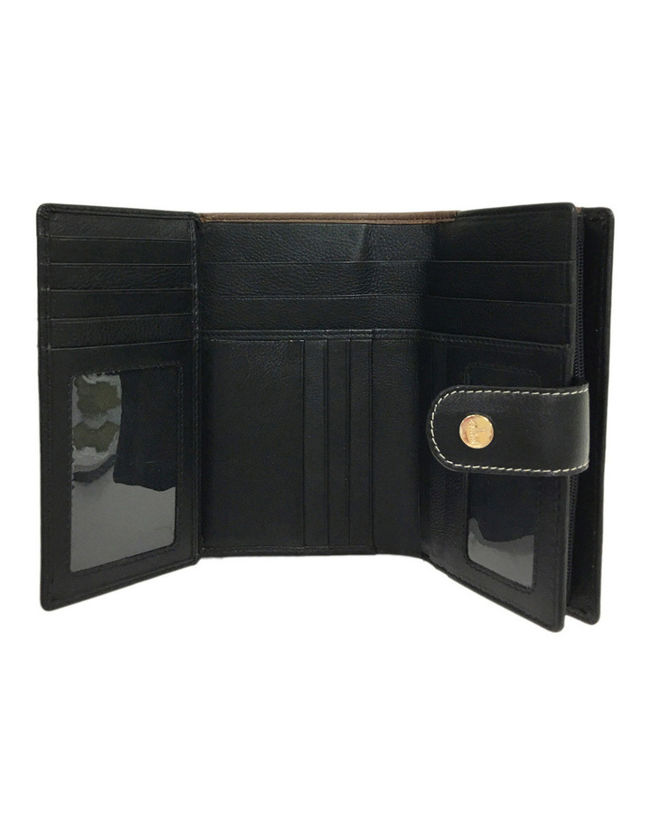 CWI231 Eden RFID Bifold Wallet in Brown Multi image 2