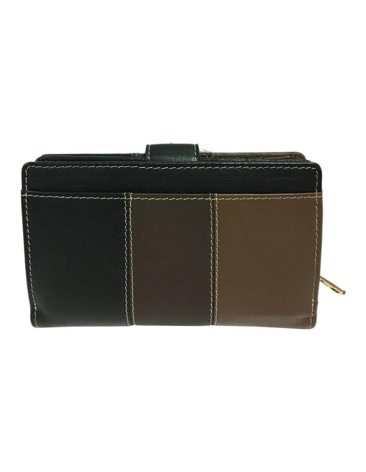 CWI231 Eden RFID Bifold Wallet in Brown Multi image 3