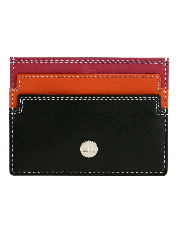 CWQ200 Paris Pocket Black Credit Card Holder image 1