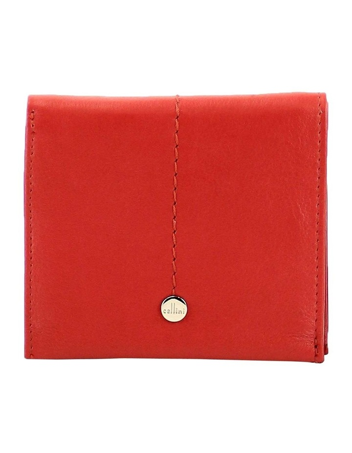 CWQ206 Fairview Flap Over Red Wallet image 1