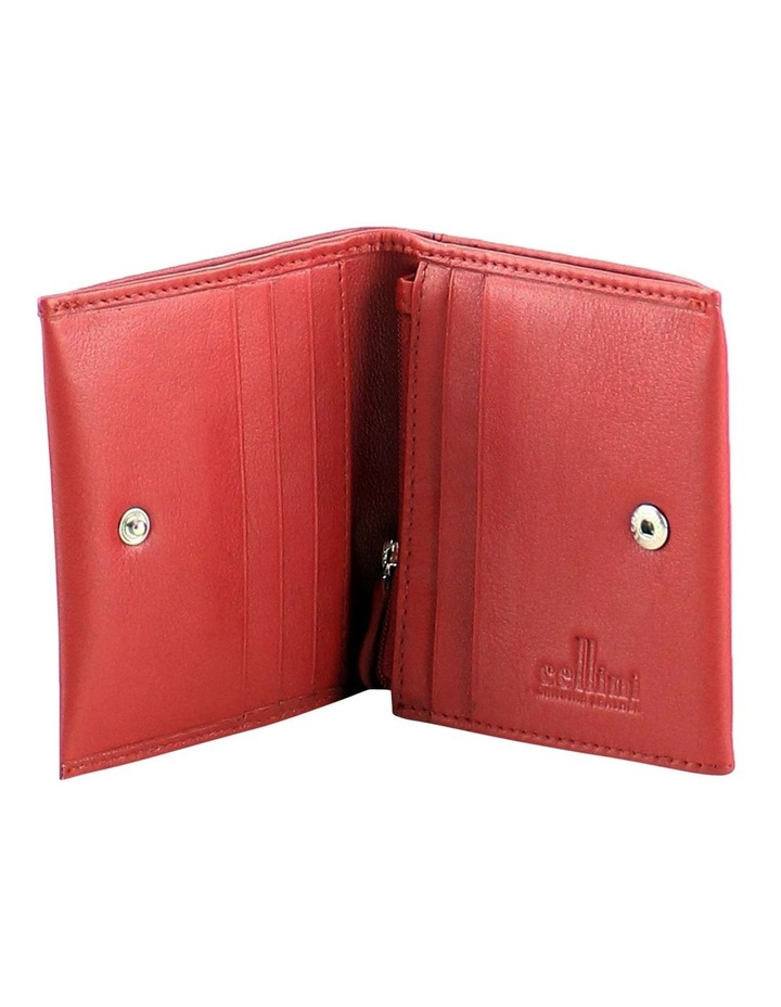 CWQ206 Fairview Flap Over Red Wallet image 2