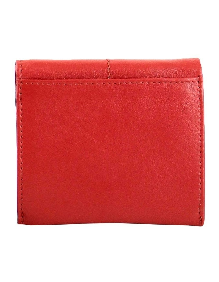 CWQ206 Fairview Flap Over Red Wallet image 3