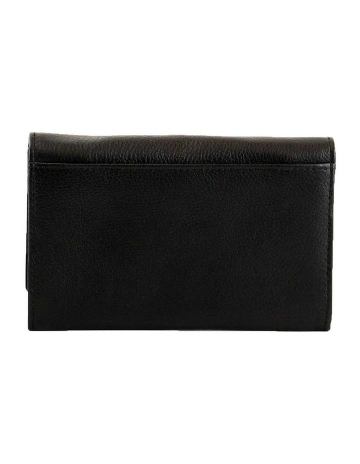 CWQ203 Murphy Flap Over Black Wallet image 3