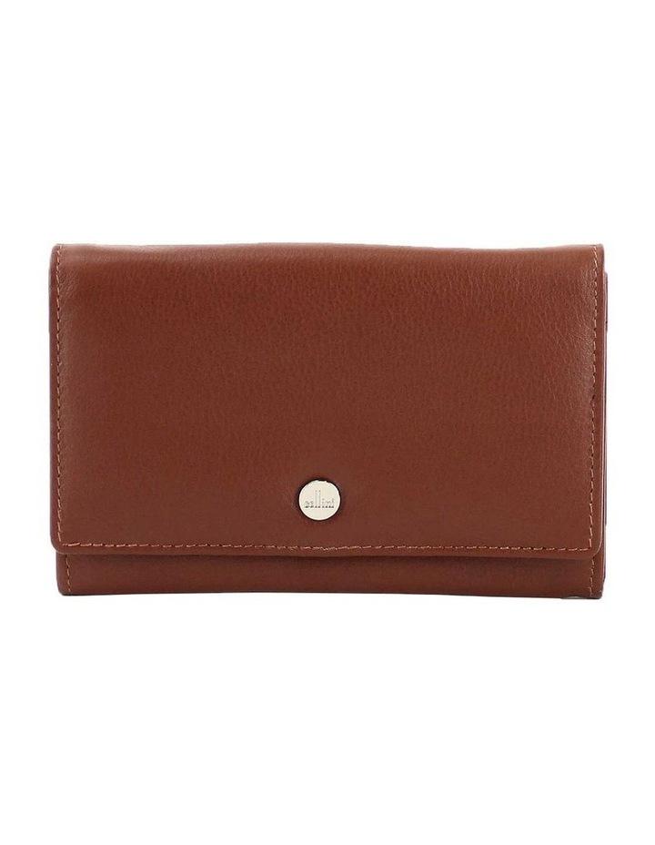 CWQ203 Murphy Flap Over Cognac Wallet image 1