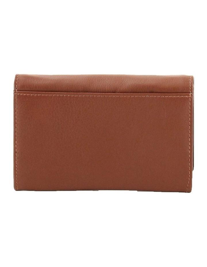 CWQ203 Murphy Flap Over Cognac Wallet image 3