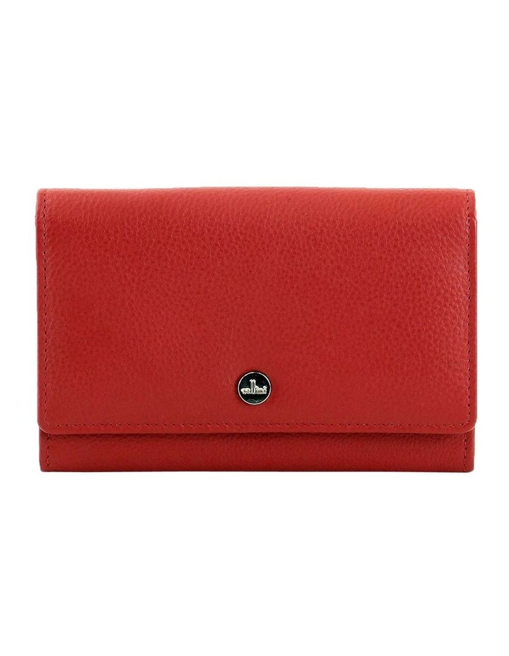 CWQ203 Murphy Flap Over Red Wallet image 1