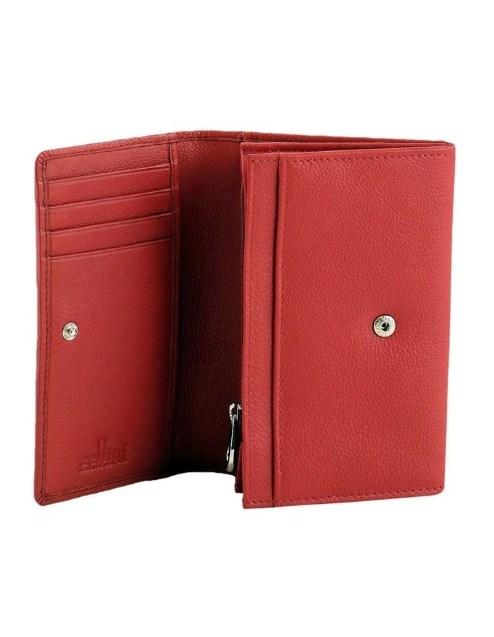 CWQ203 Murphy Flap Over Red Wallet image 2