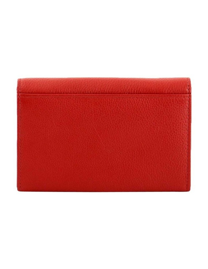CWQ203 Murphy Flap Over Red Wallet image 3
