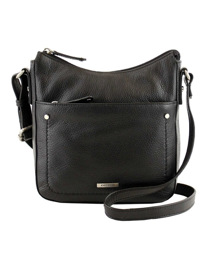 JWQ104 Idyll Zip Top Black Crossbody Bag image 1