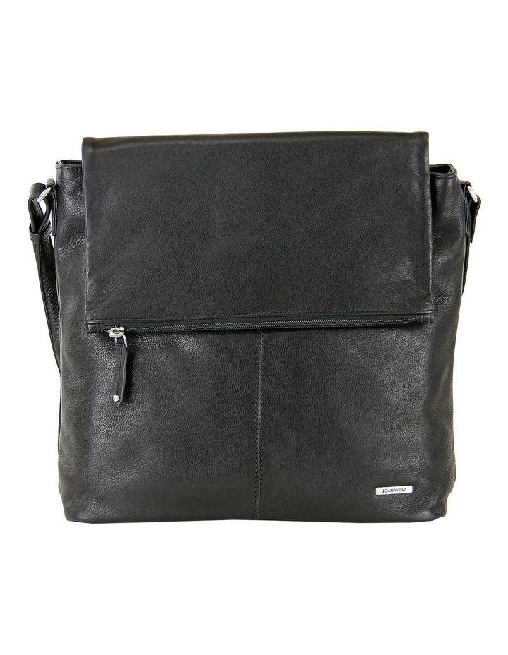 Fold Over Zip Top Sling in Black 2854 image 1