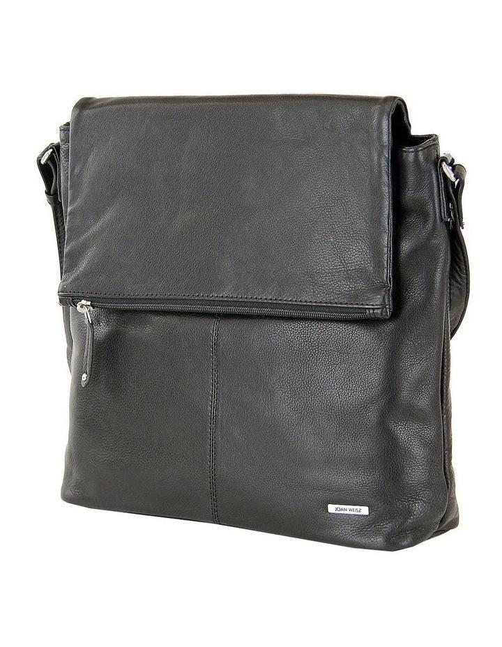 Fold Over Zip Top Sling in Black 2854 image 2