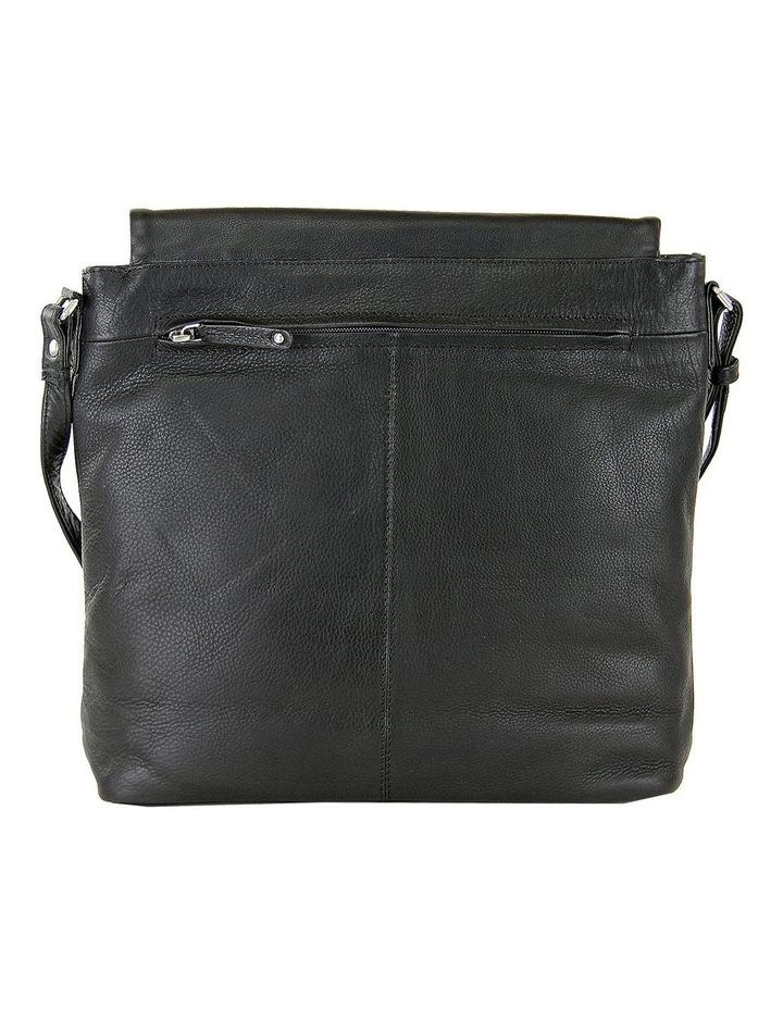 Fold Over Zip Top Sling in Black 2854 image 3