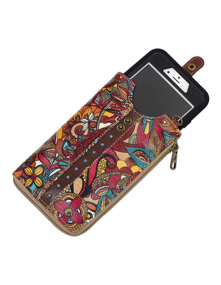 Artist Circle Zip Top Smartphone Crossbody Bag image 4