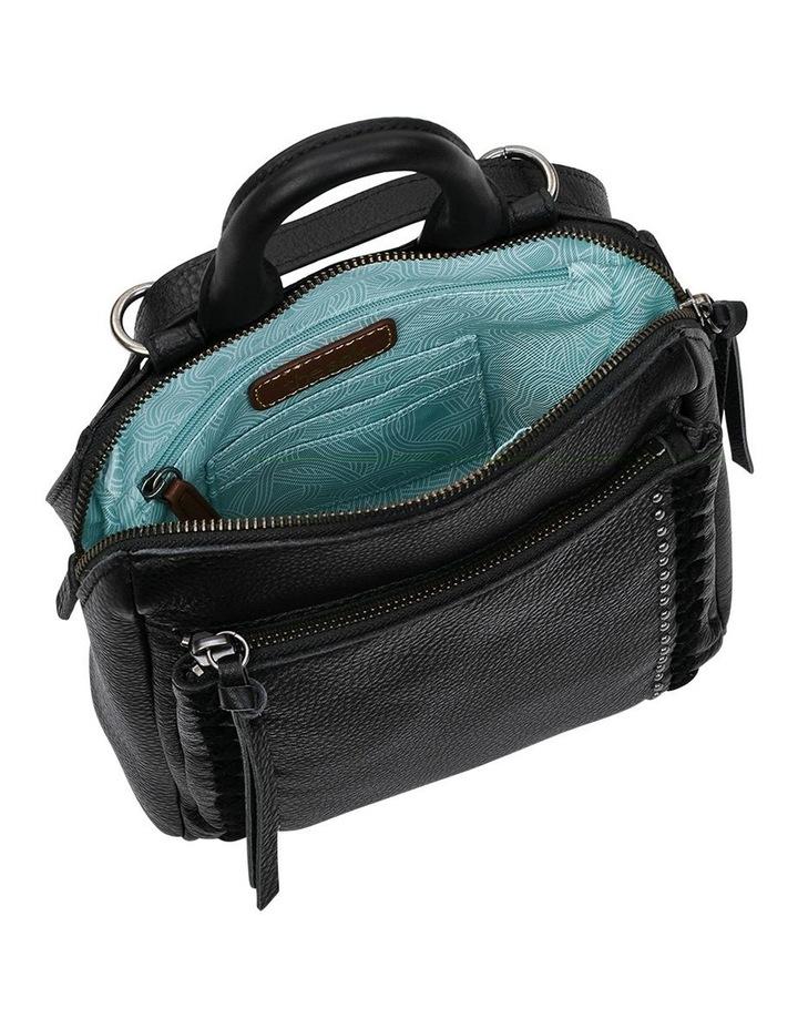 108224BLA Loyola Zip Top Backpack image 3