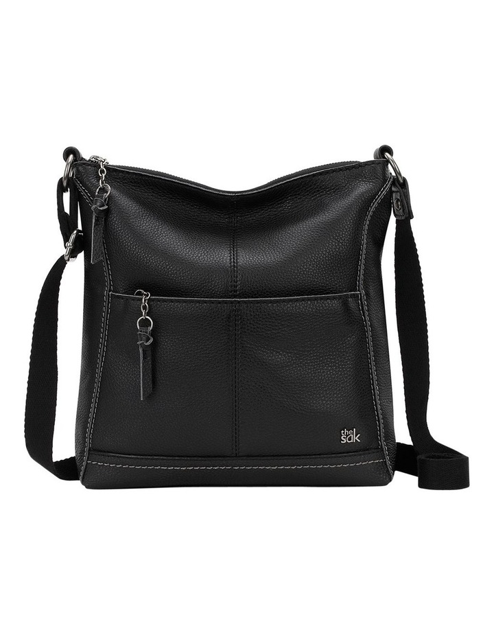 107528BLA Lucia Zip Top Crossbody image 1