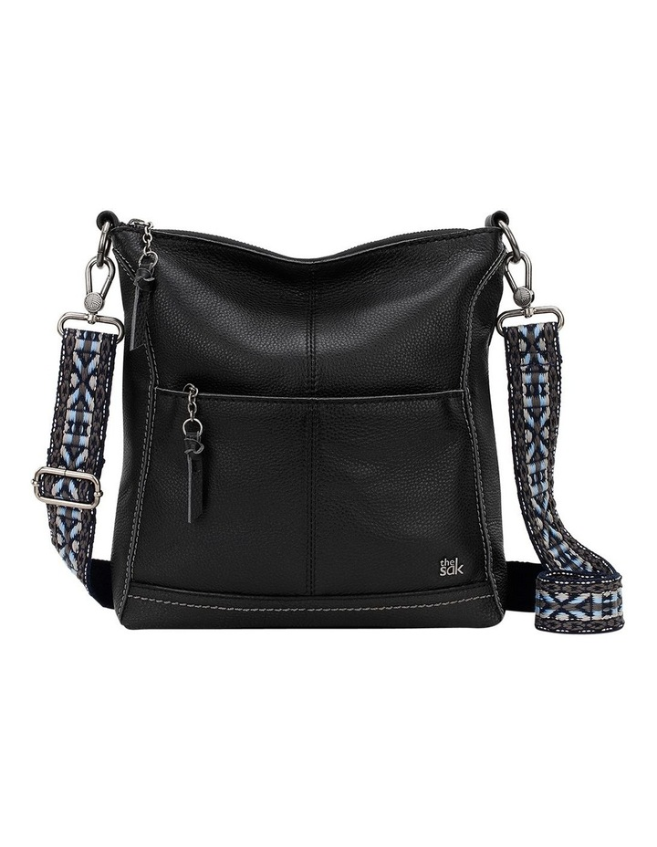 107528BLA Lucia Zip Top Crossbody image 2