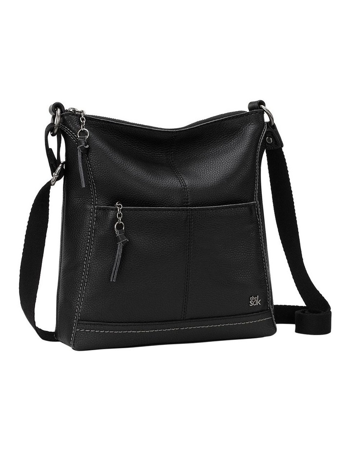 107528BLA Lucia Zip Top Crossbody image 3