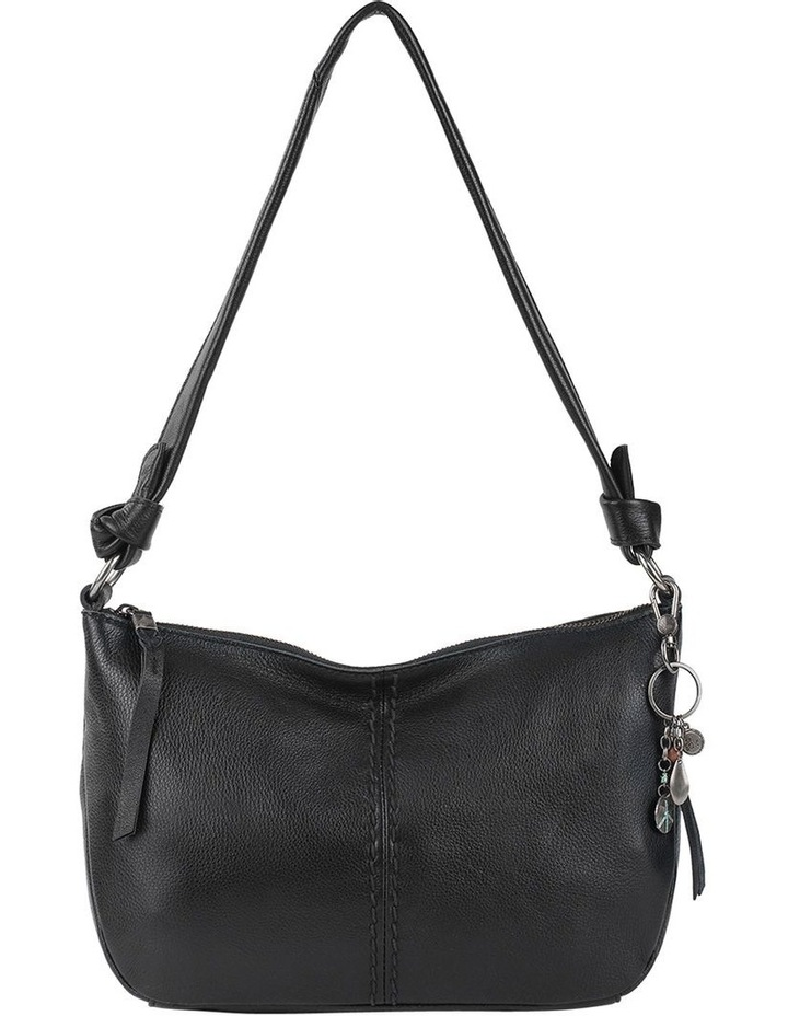 108504BLA Rialto Zip Top Shoulder Bag image 1