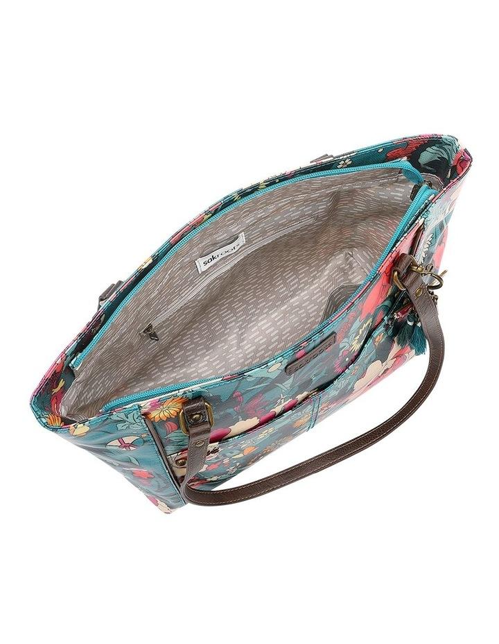 106078 Artist Circle Zip Top Tote Bag image 3