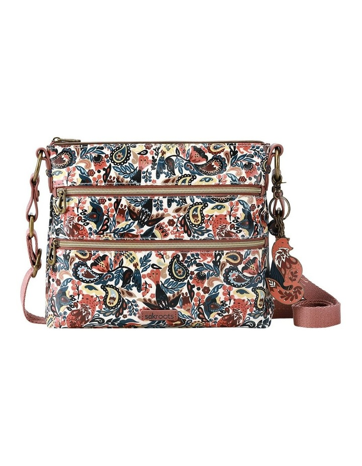 107214 Artist Circle Zip Top Crossbody Bag image 1