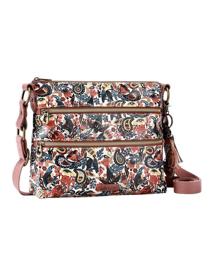 107214 Artist Circle Zip Top Crossbody Bag image 2