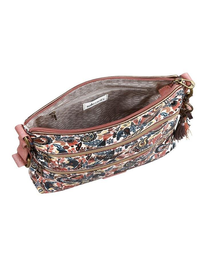 107214 Artist Circle Zip Top Crossbody Bag image 3