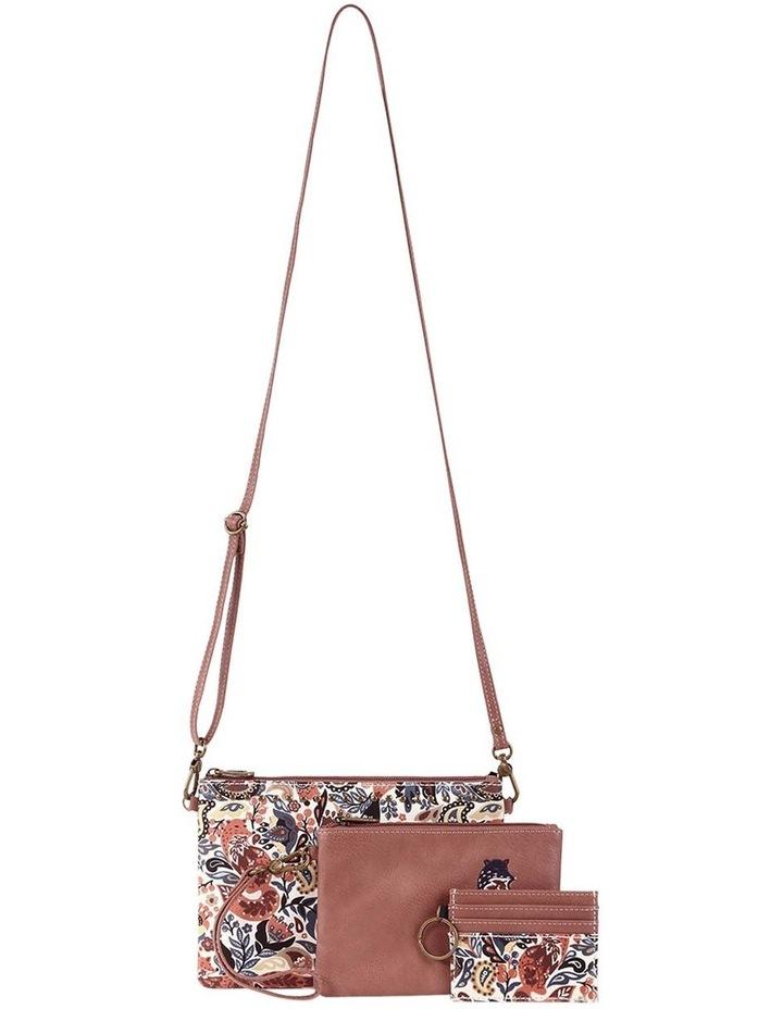 108799 Artist Circle Zip Top Crossbody Bag image 1