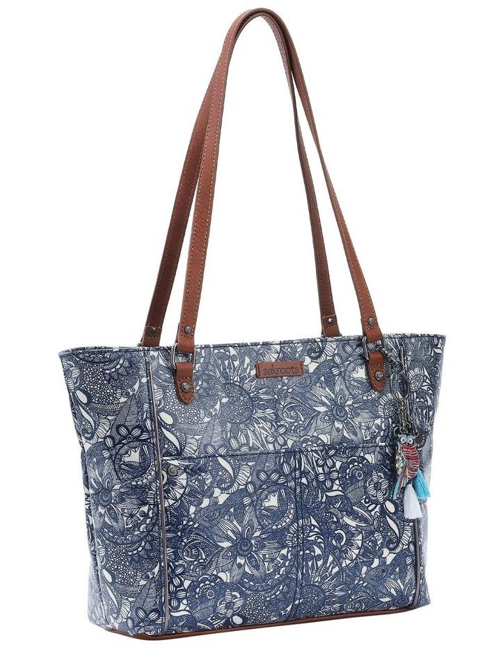 106078 Artist Circle Zip Top Tote Bag image 2