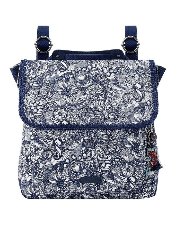 106164NAVSD Artist Circle Flap Over Backpack image 1