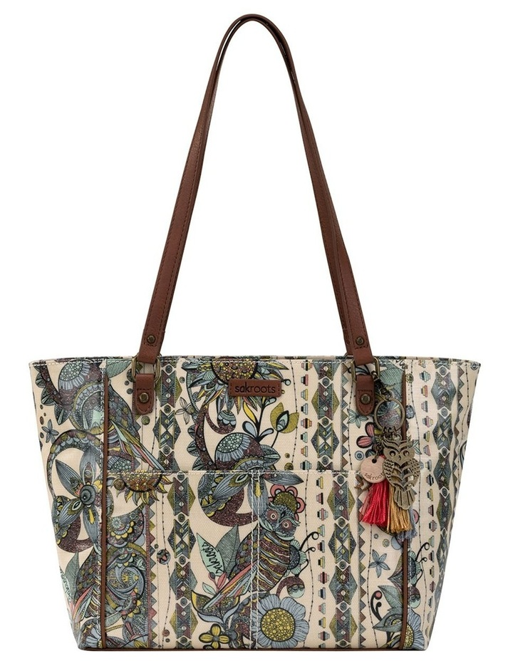 108339SUNSD Artist Circle Double Handle Tote Bag image 1