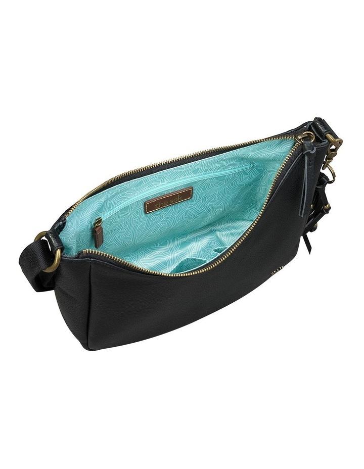 108958BLA Isabella Zip Top Crossbody Bag image 3