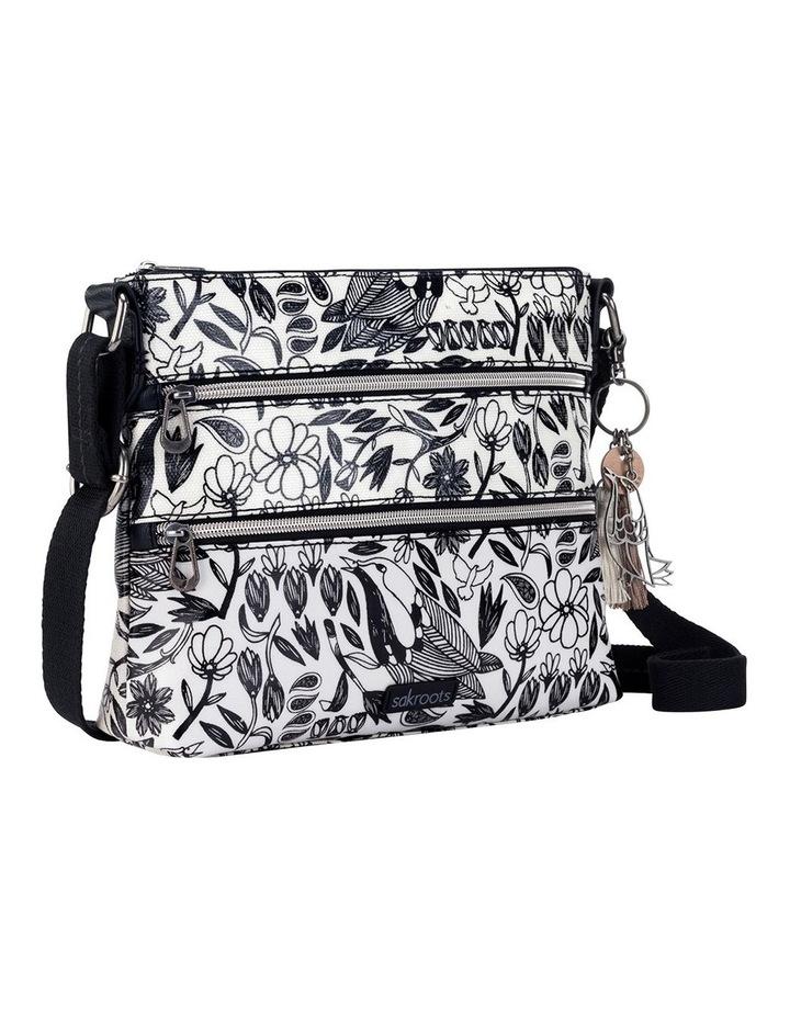 107214BLAPB Artist Circle Zip Top Crossbody Bag image 2