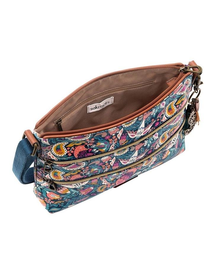 107214TEAEF Artist Circle Zip Top Crossbody Bag image 4