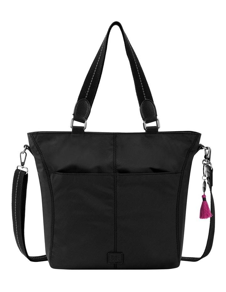 108218BLA Esperato Nylon Double Handle Tote Bag image 1
