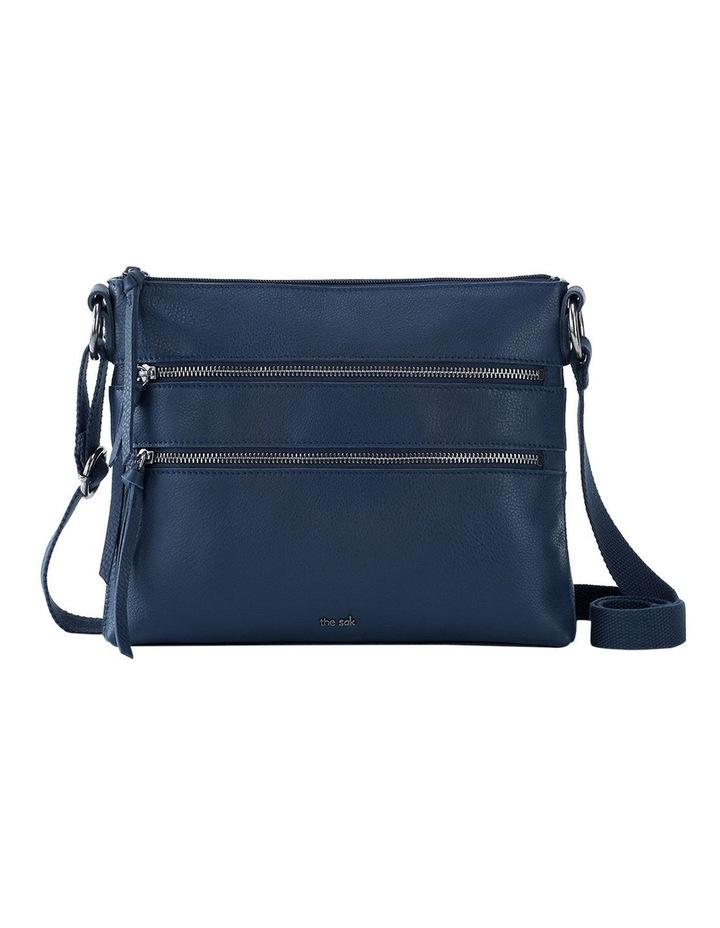 108378IND Reseda Leather Zip Top Crossbody Bag image 1