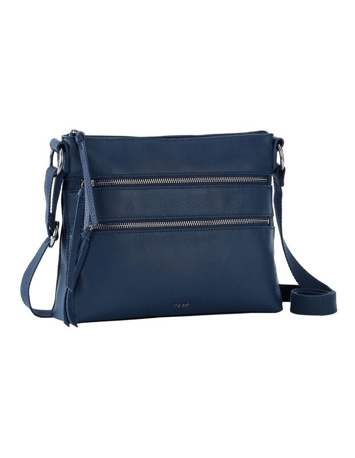 108378IND Reseda Leather Zip Top Crossbody Bag image 2
