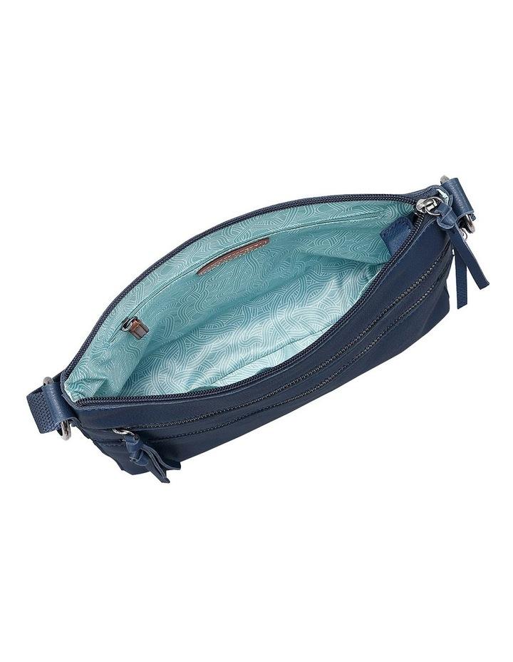 108378IND Reseda Leather Zip Top Crossbody Bag image 3