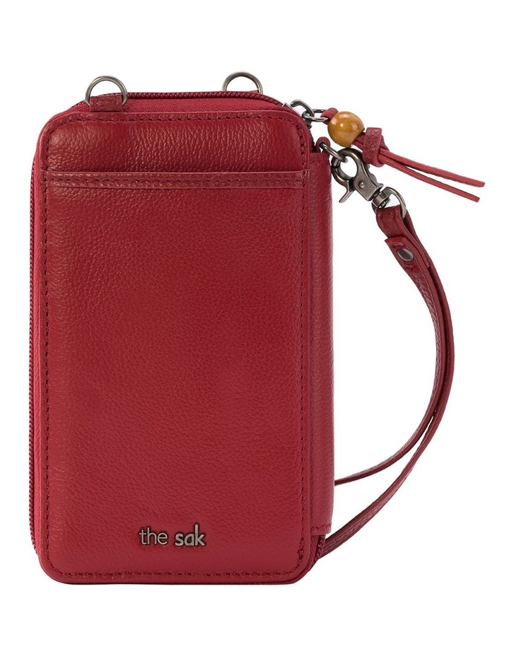 108812SCA Iris Leather Zip Around Wallet image 2