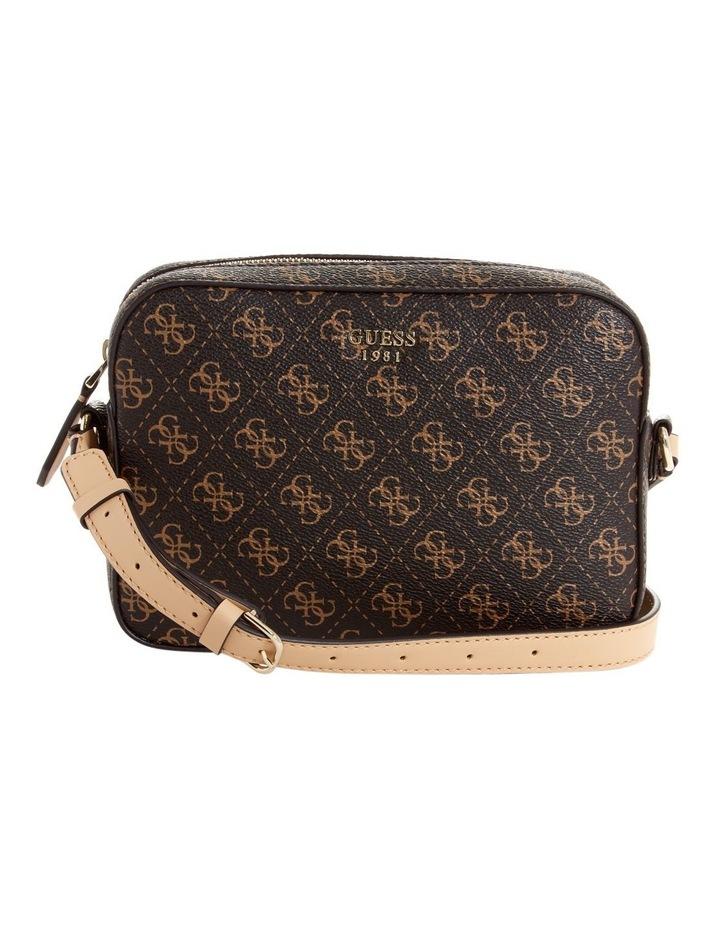 SG669112BRO Kamryn Zip Top Crossbody Bag image 1