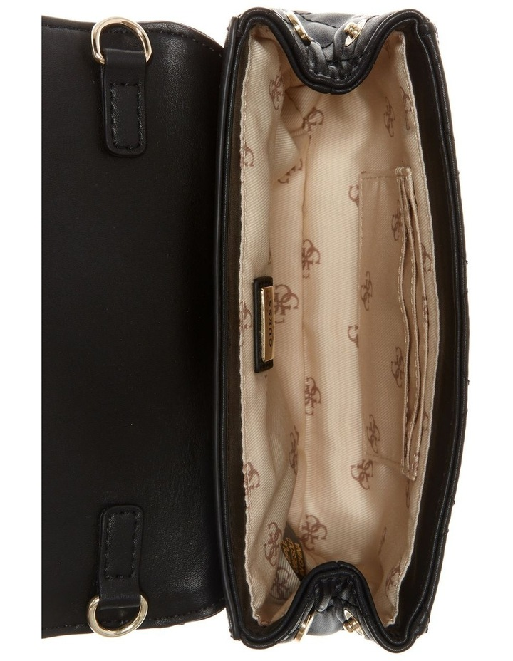 VG730281BLA Elliana Flap Over Belt Bag image 3