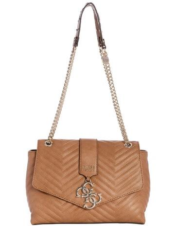 44afe6bed570 GuessVG729420TAN Violet Flap Over Shoulder Bag. Guess VG729420TAN Violet  Flap Over Shoulder Bag