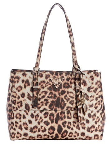6382c0142 GuessLG740323LEO Carys Double Handle Tote Bag. Guess LG740323LEO Carys  Double Handle Tote Bag