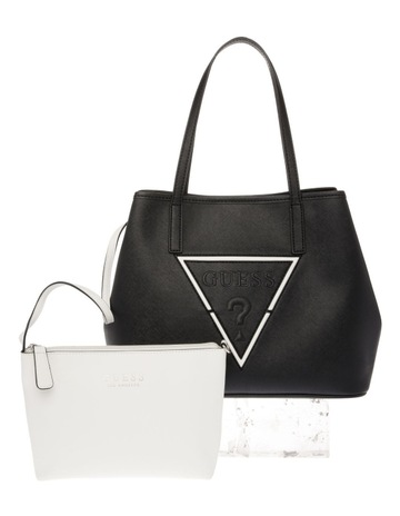 c48a93657ca1 GuessVY727124BML Palmer Double Handle Tote Bag. Guess VY727124BML Palmer  Double Handle Tote Bag