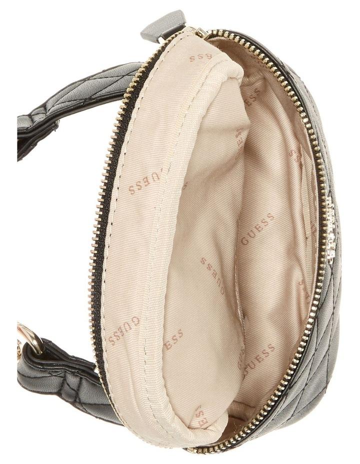 VG743680BLA Miriam Zip Top Belt Bag image 3